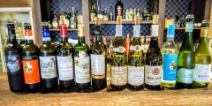 秋のグラスワイン