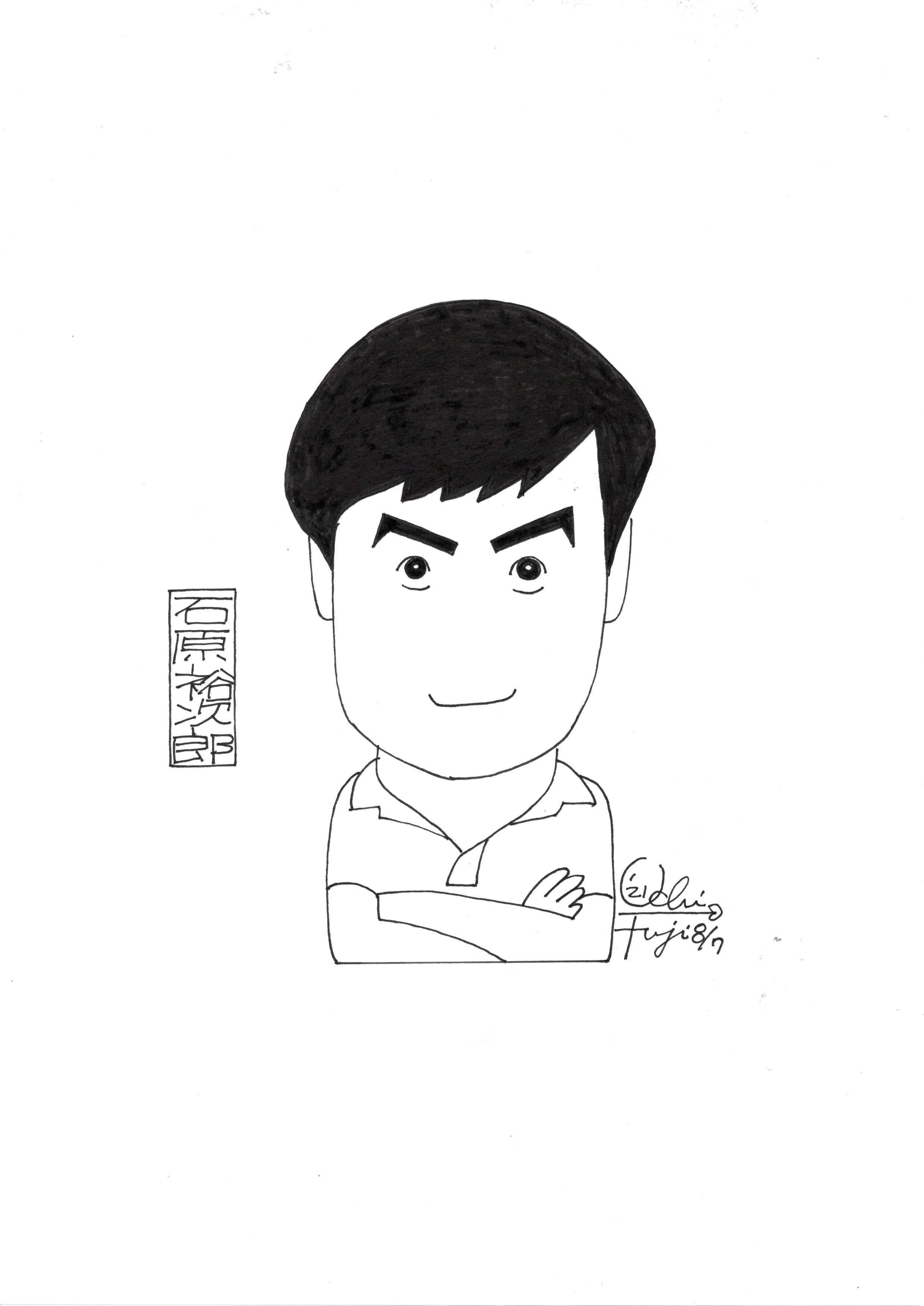 内藤勲の似顔絵ッセイ展 パート26
