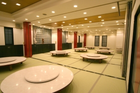 2階のお座敷宴会場。最大100名様