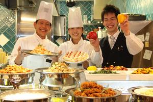 「私たちが心を込めて美味しい料理をご提供いたします!」