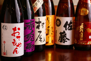 日本酒の種類が豊富!レアものの日本酒も隠し持ってるので、店長に聞いてみよう!