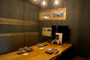 (2)VIPルームもあるよ。ご希望の場合、予約時にお伝えください