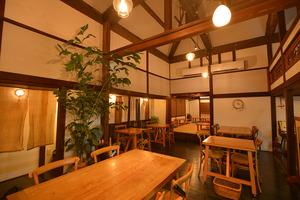 地域を盛り上げたいという思いも込められたカフェ。居心地の良さは抜群!