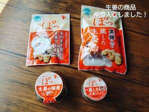 国産生姜の商品