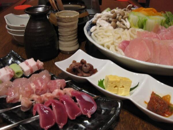 ■土鍋ですき焼き『鶏すき焼きコース』■4月~9月 飲み放題付