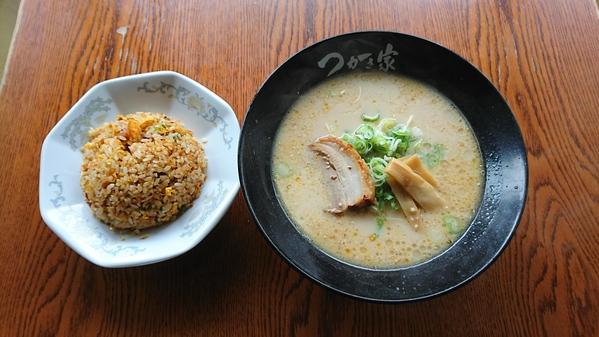 白龍麺(トンコツ)+ チャーハン 又は 天津飯