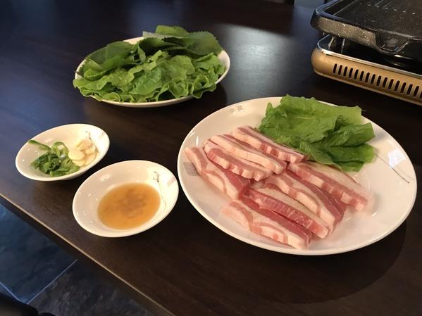 サムギョプサル(野菜セット)
