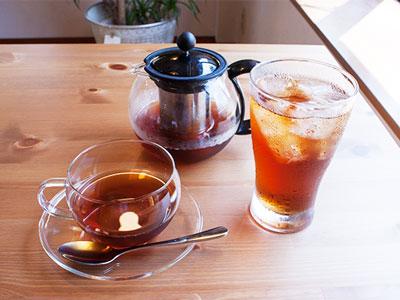 ドリンクセット-紅茶(温/冷)