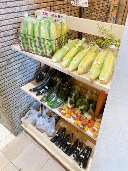 お野菜販売中