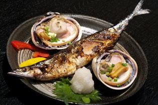 今日の焼き魚