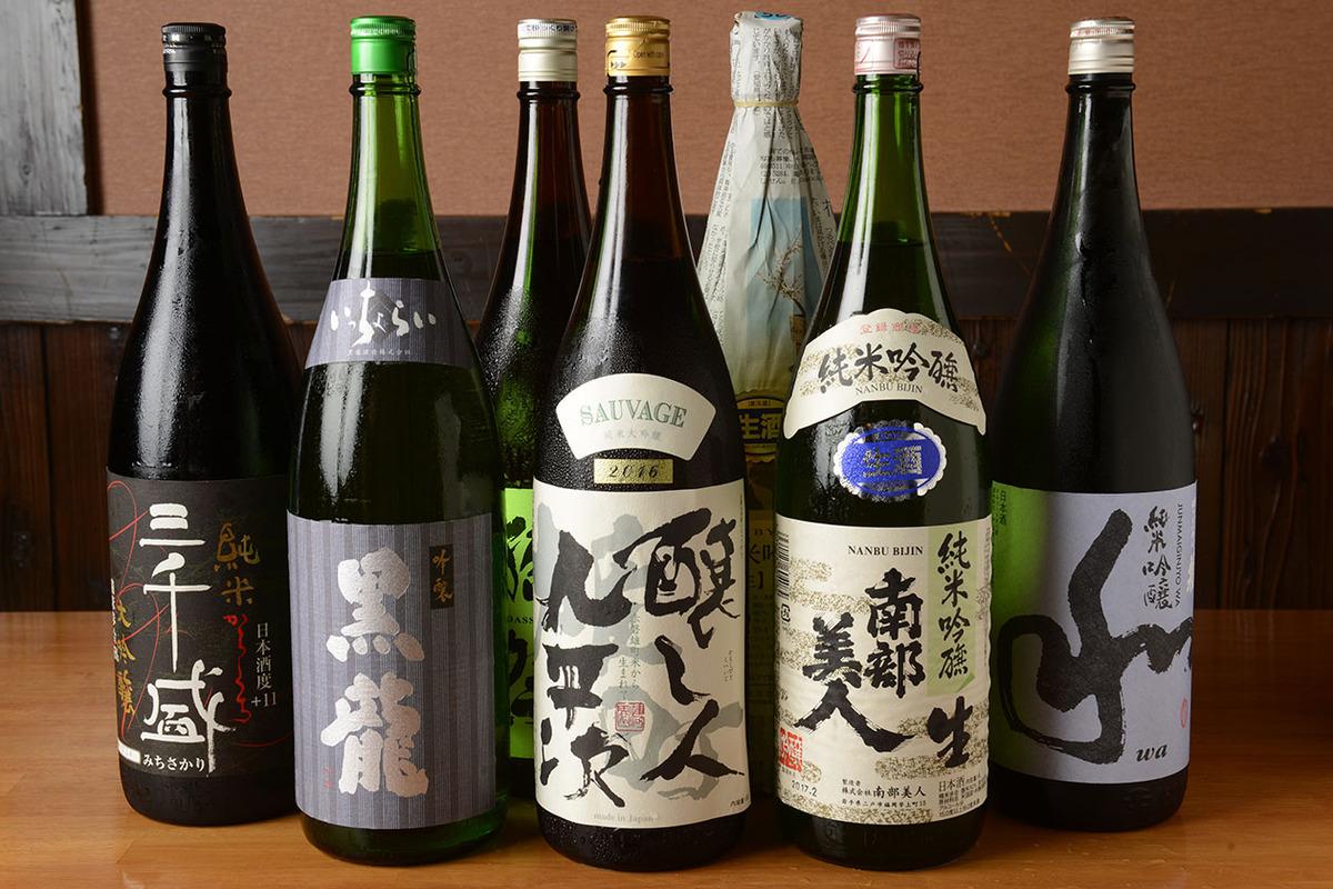 日本酒・芋焼酎各種