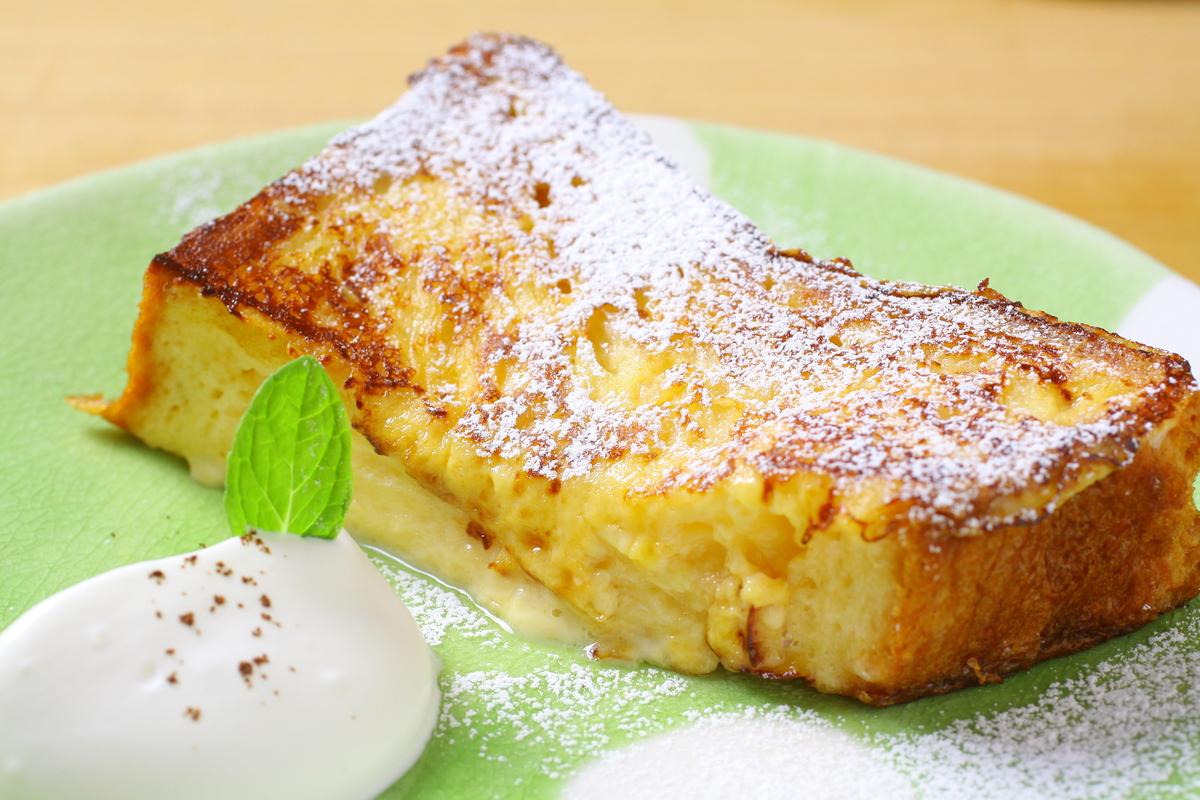 ふんわりデニッシュで作った「フレンチトースト」