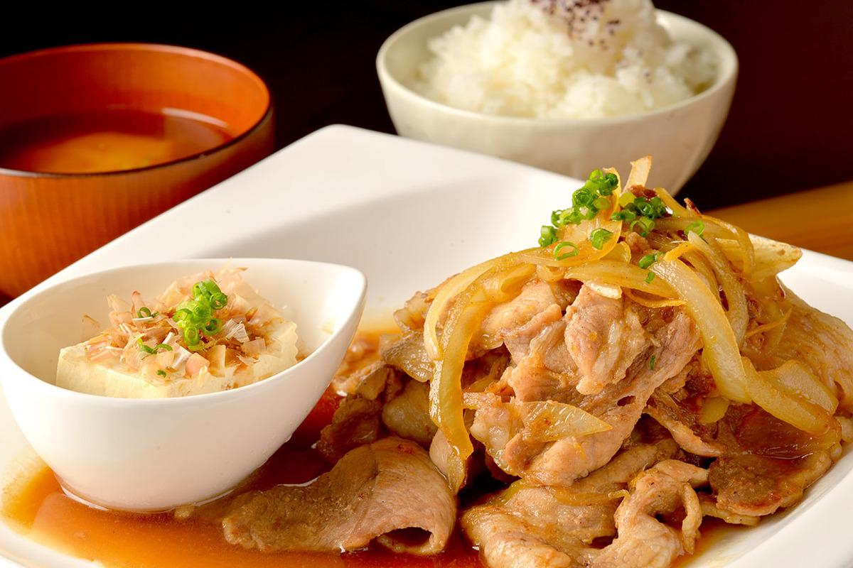 生姜焼きランチ(ドリンク付)