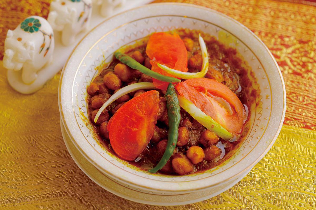 チャナマサラカレー(ひよこ豆)