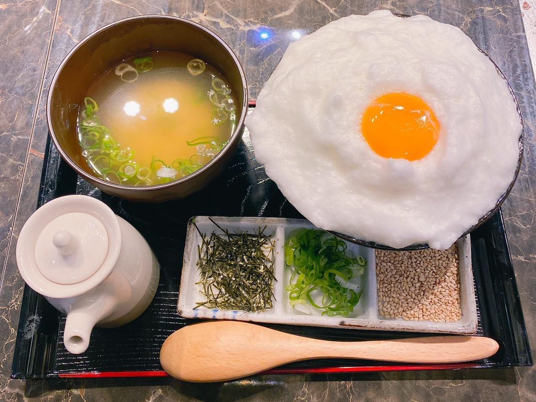 ふわふわ卵かけご飯