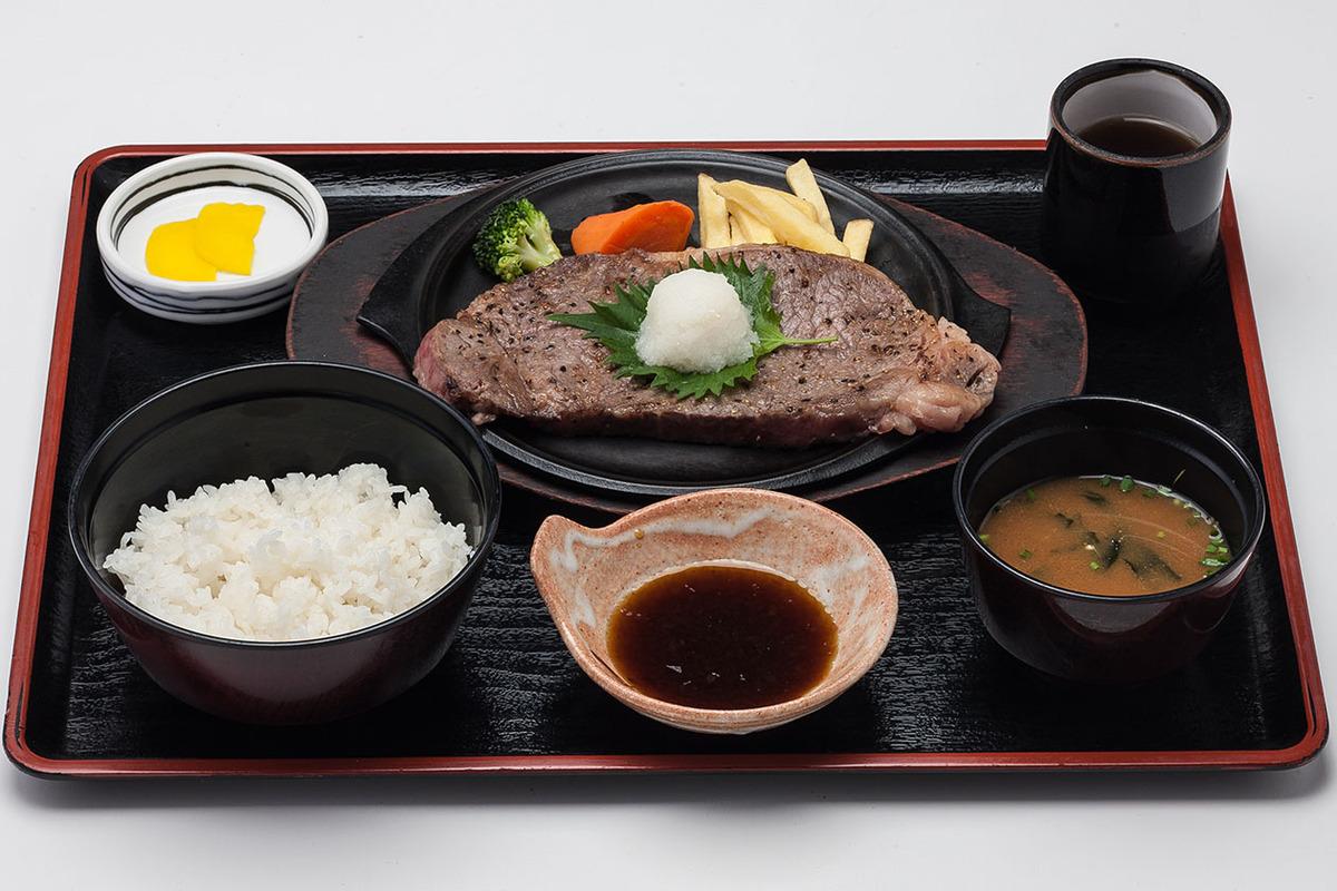 おろしサーロインステーキ定食(150g)