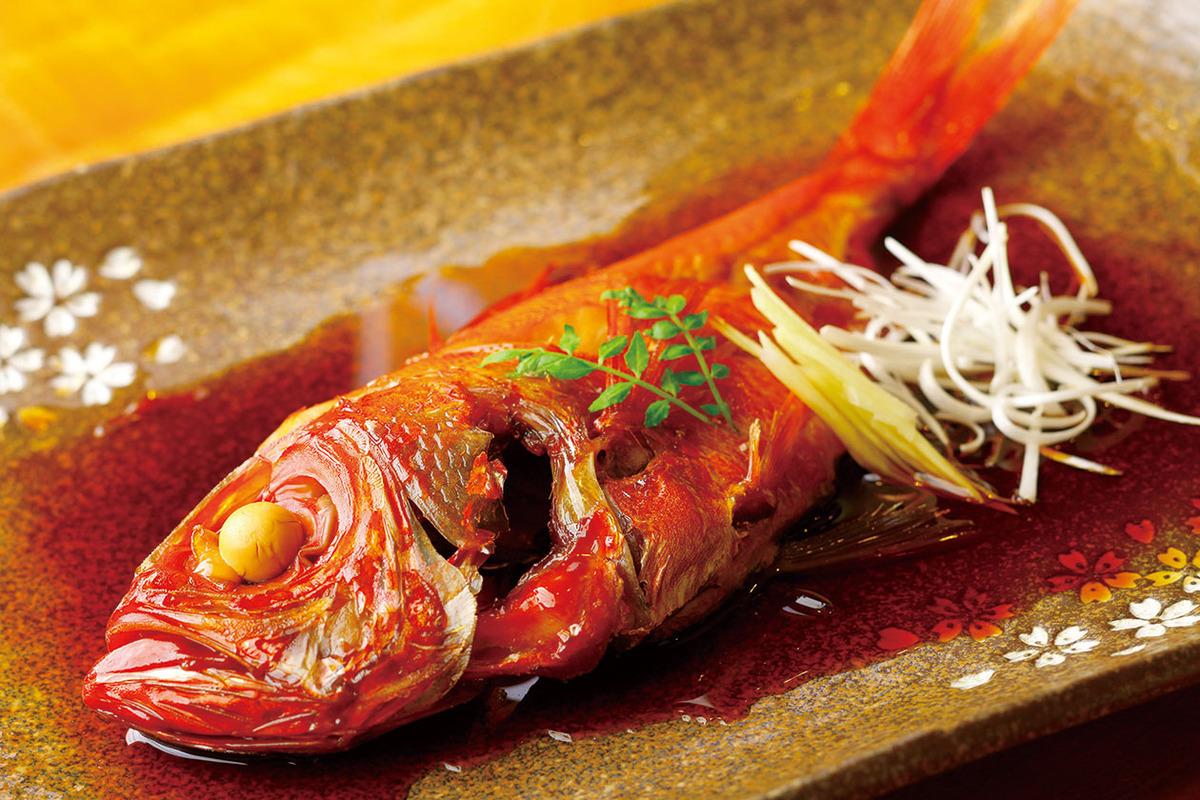 金目鯛の煮付♪
