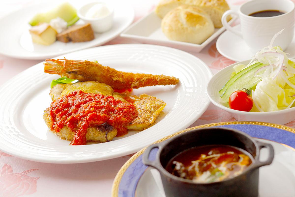 洋食盛り合わせコース(ディナー限定)