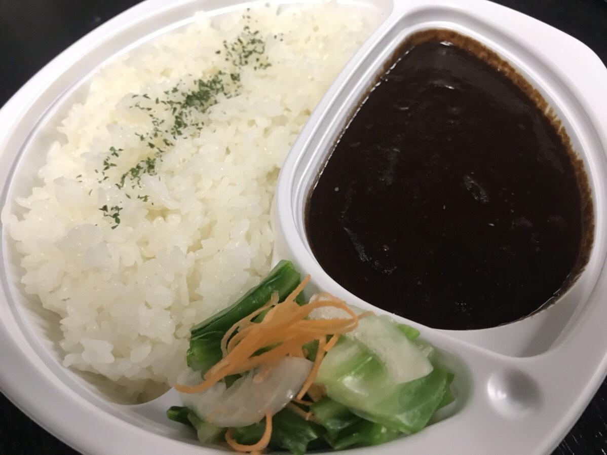 黒カレー弁当