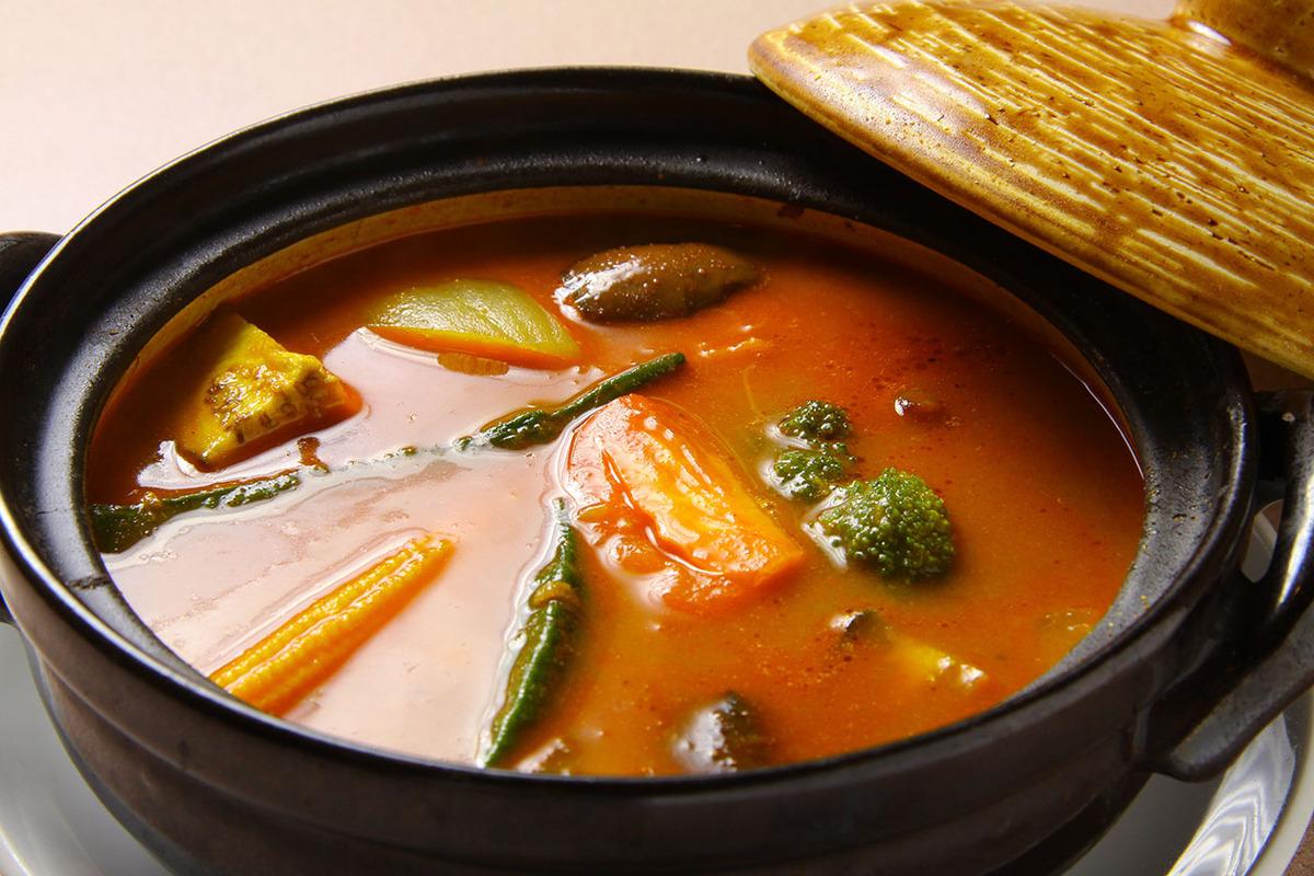 野菜たっぷり鍋カレー