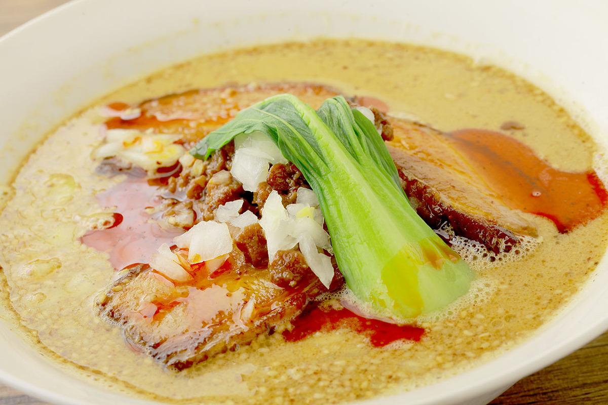 チャーシュー担々麺