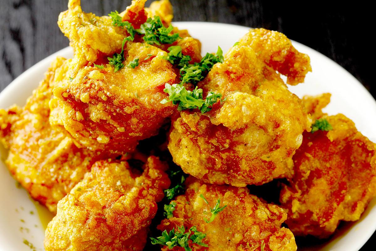 鶏の唐揚げ 甘酢かけ(7個)