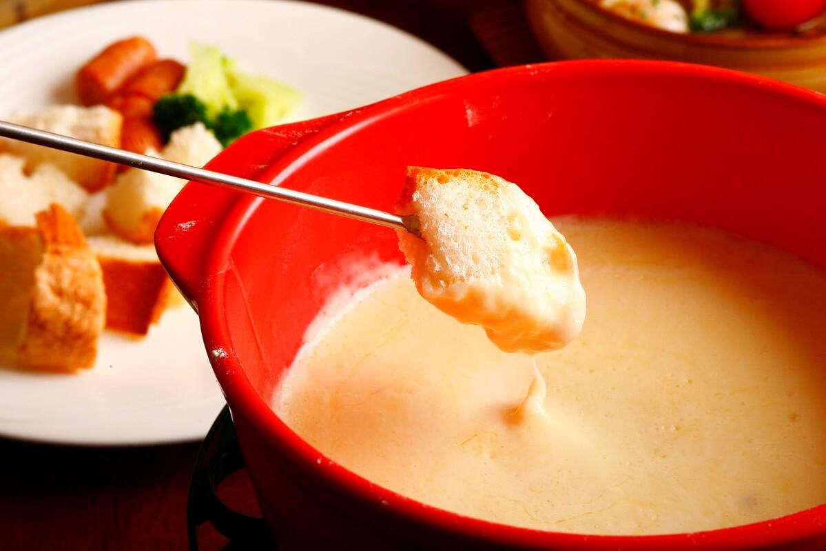チーズフォンデュ★2名様用(ディナー限定)