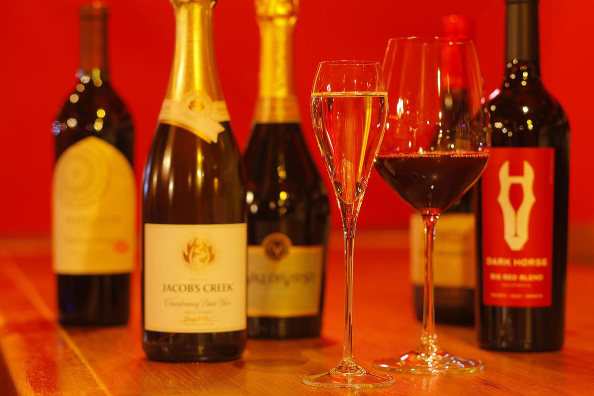 グラスワイン(赤・白・スパークリング)