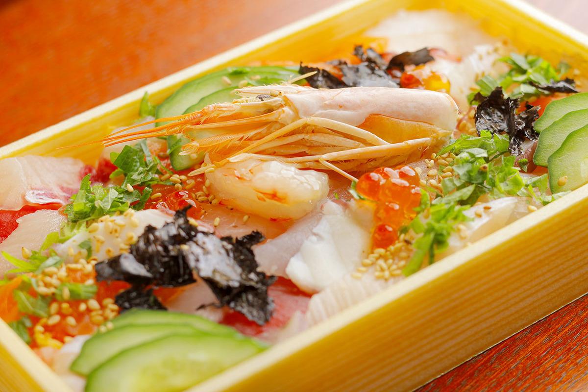 海鮮ちらし寿司弁当