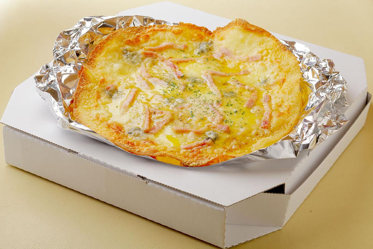 3種のチーズPIZZA(ブルーチーズ入り)