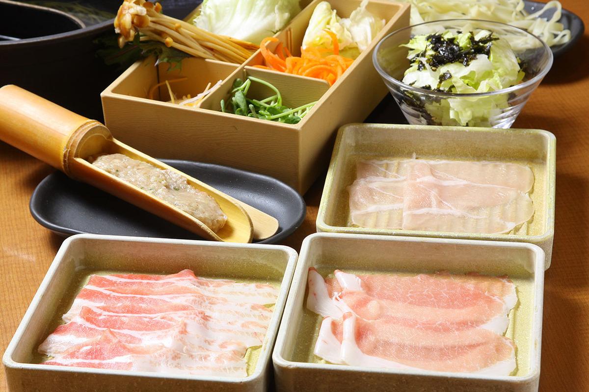 三元豚と桜姫鶏 食べきりセット
