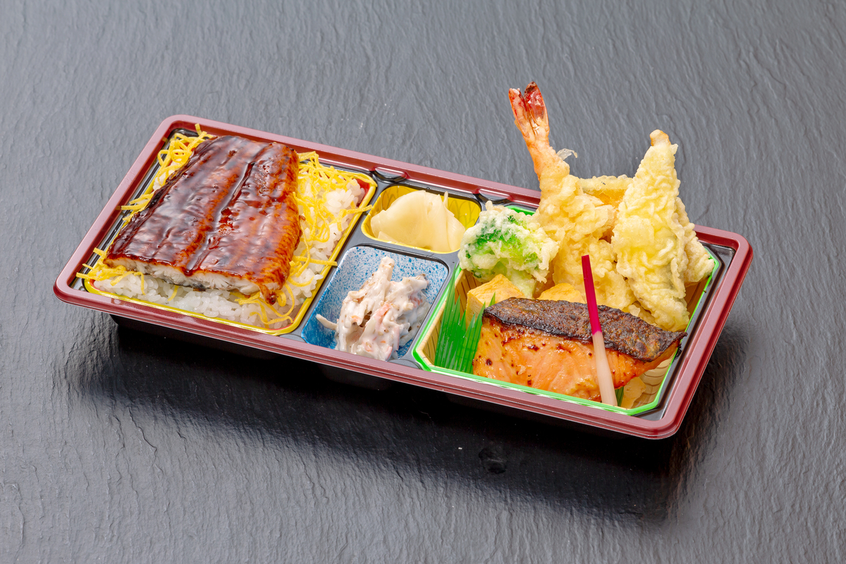 うな重&天ぷら弁当