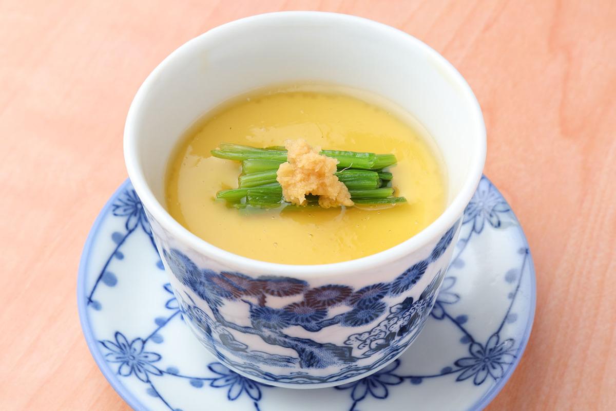 『Cコース』で選べる主菜 蟹の茶碗蒸し
