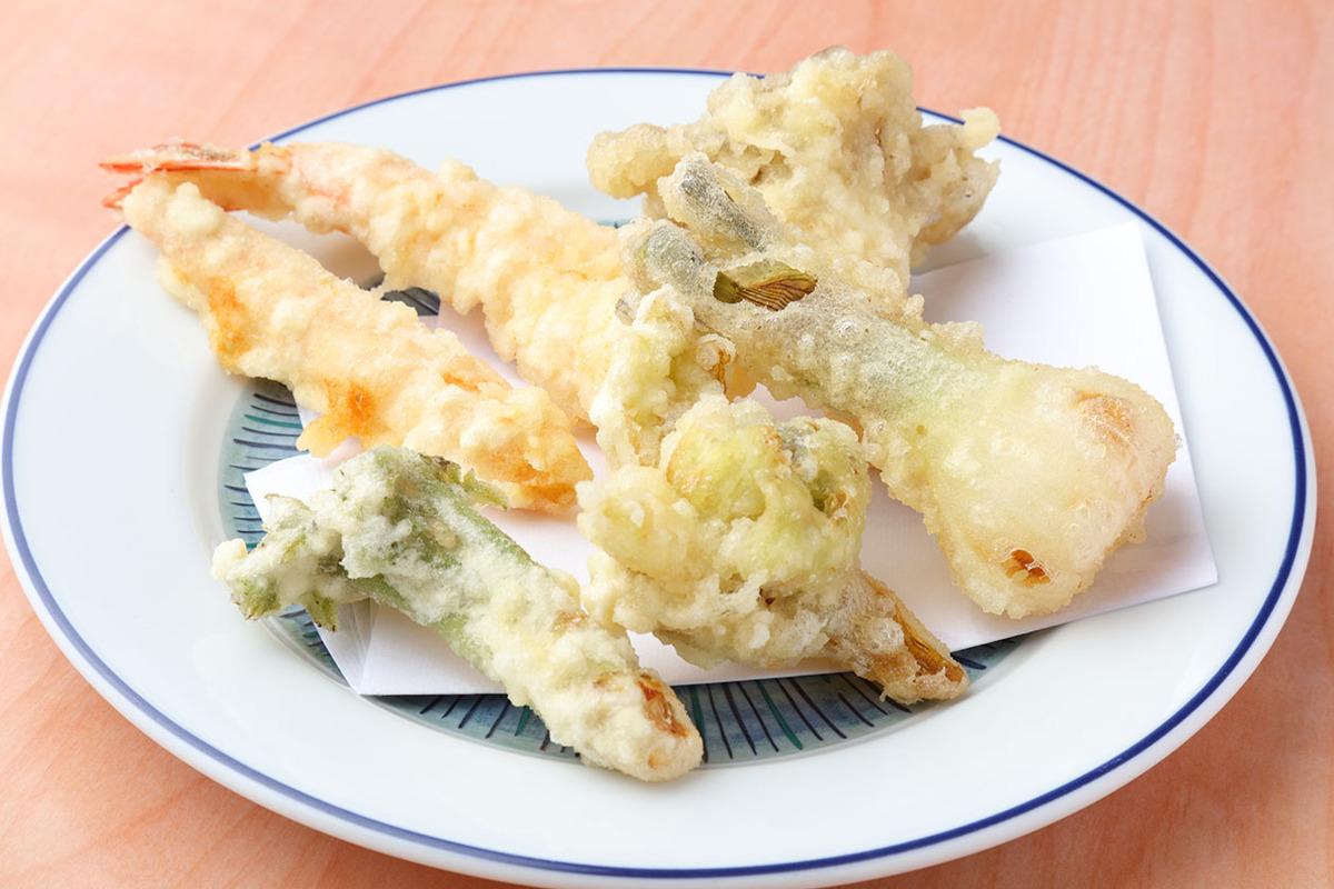 『Cコース』で選べる主菜 天ぷら