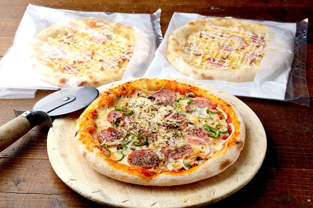 テイクアウト★冷凍ピザ