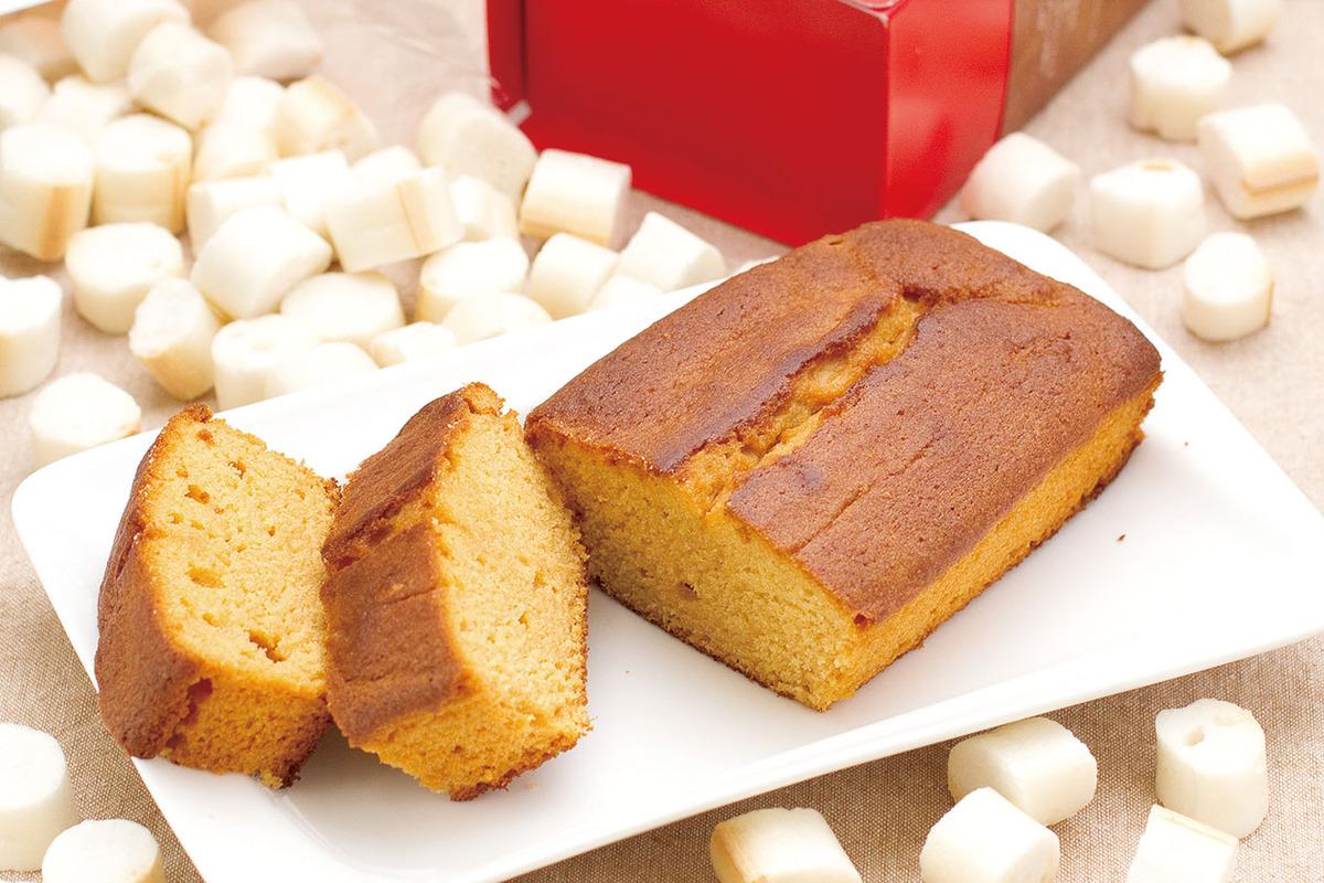 お麩とみりんのパウンドケーキ