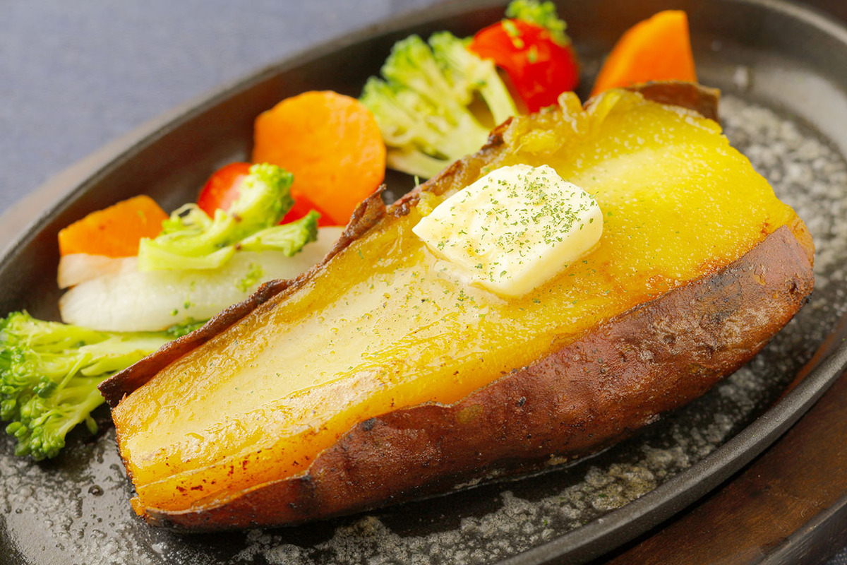 焼き芋ステーキセット