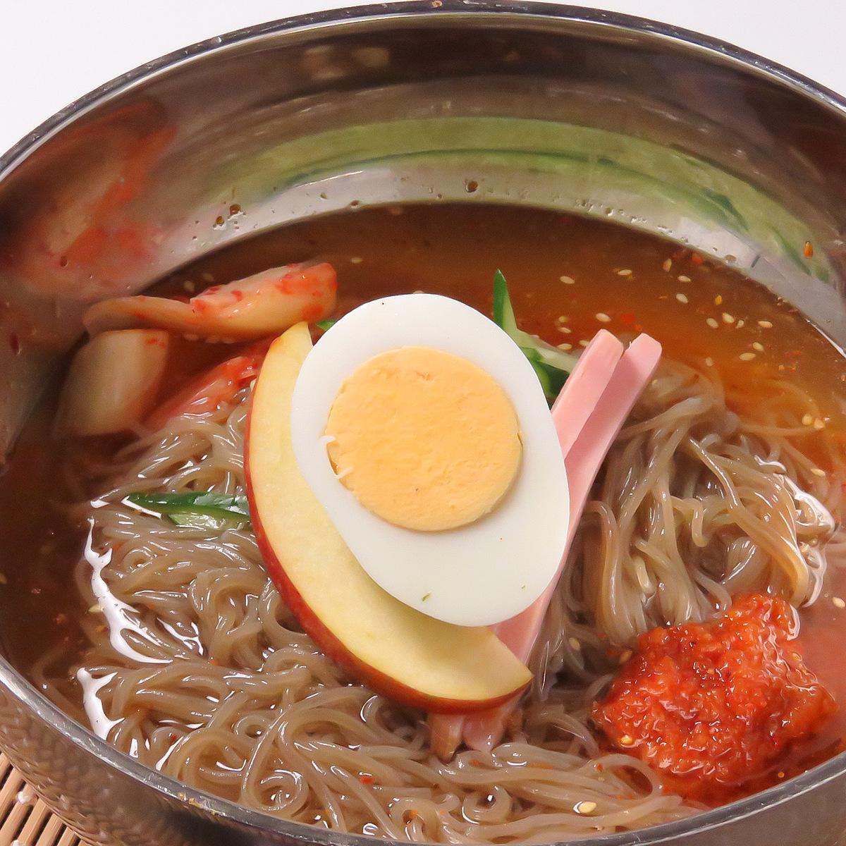 本格韓国冷麺