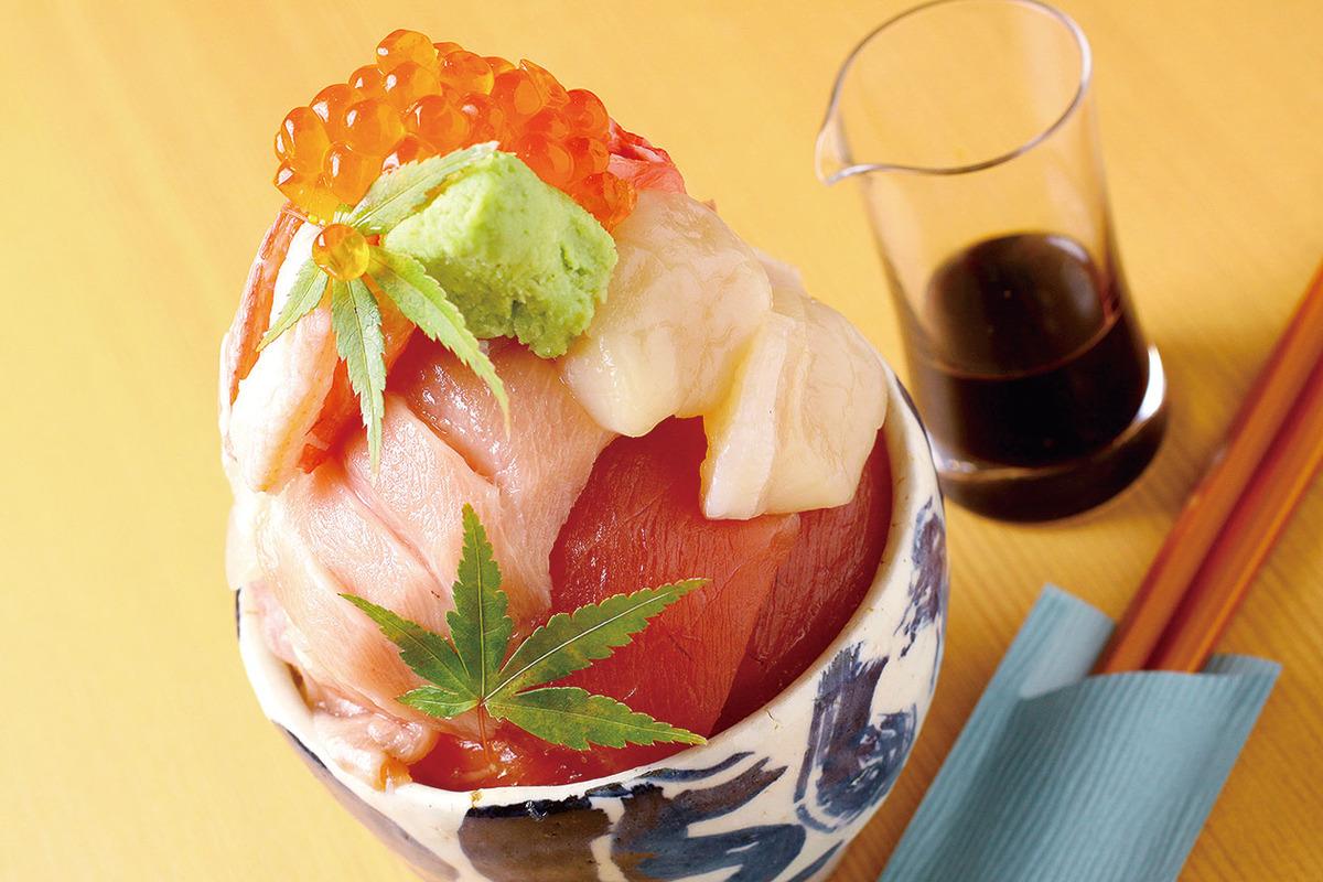 海鮮チラシ丼(ミニ)