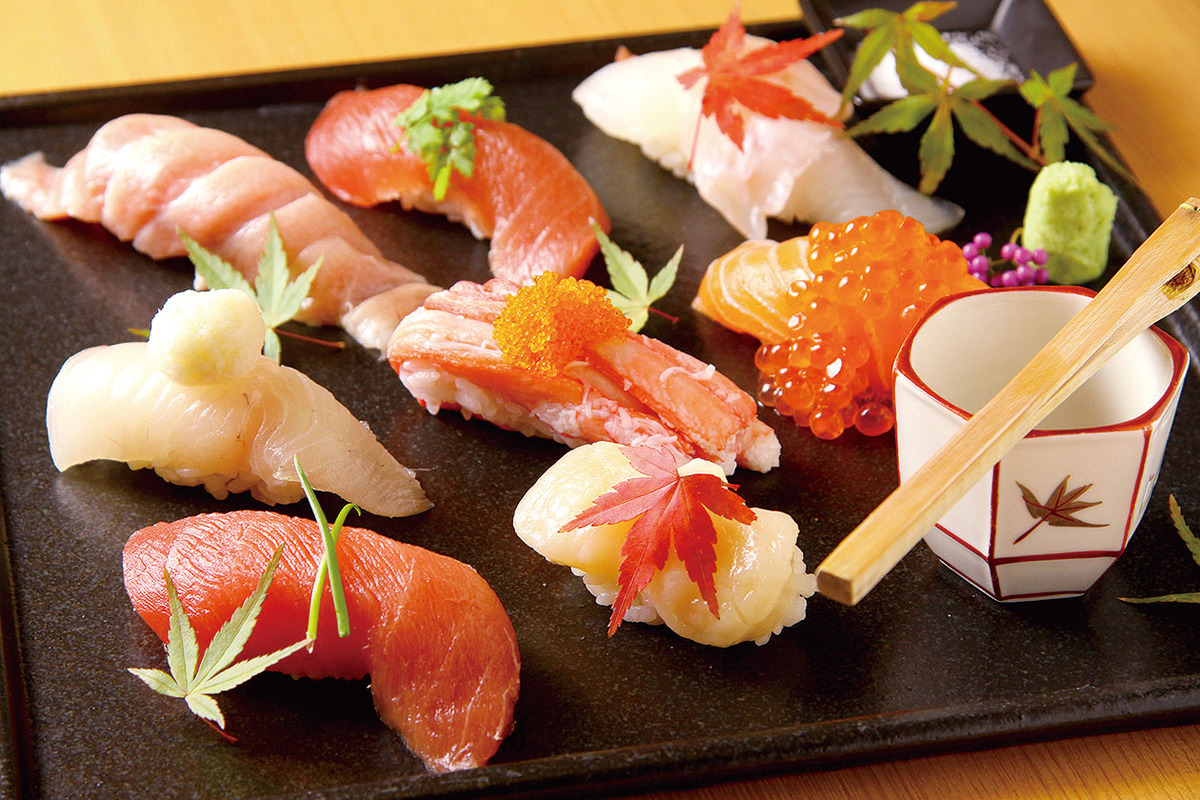 おまかせにぎり寿司 8貫