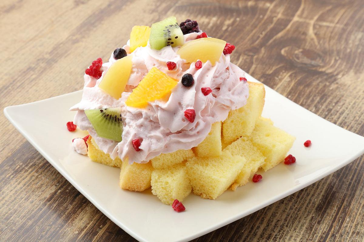 いちごクリームのシフォントライフル(ドリンク料金+450円)