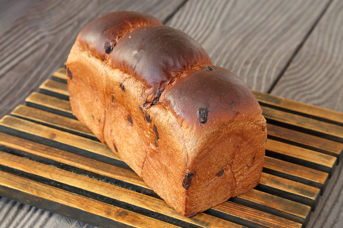 ココア食パン