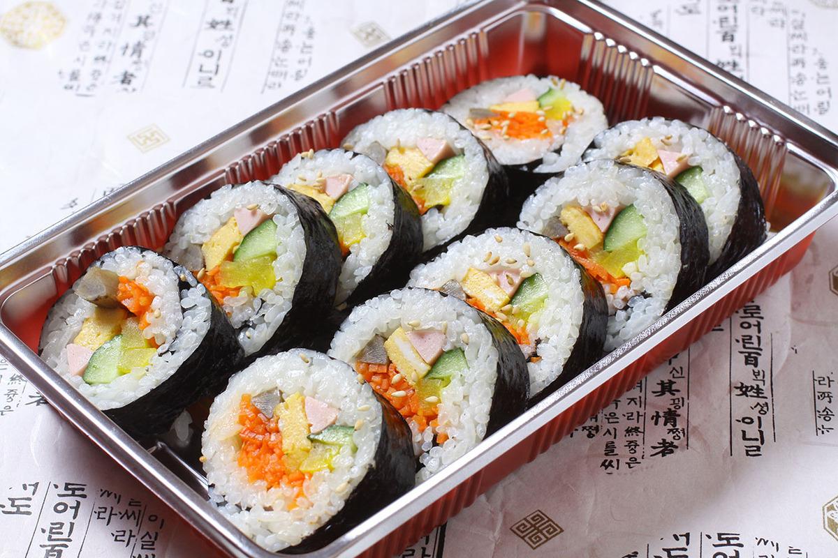 野菜キムパプ