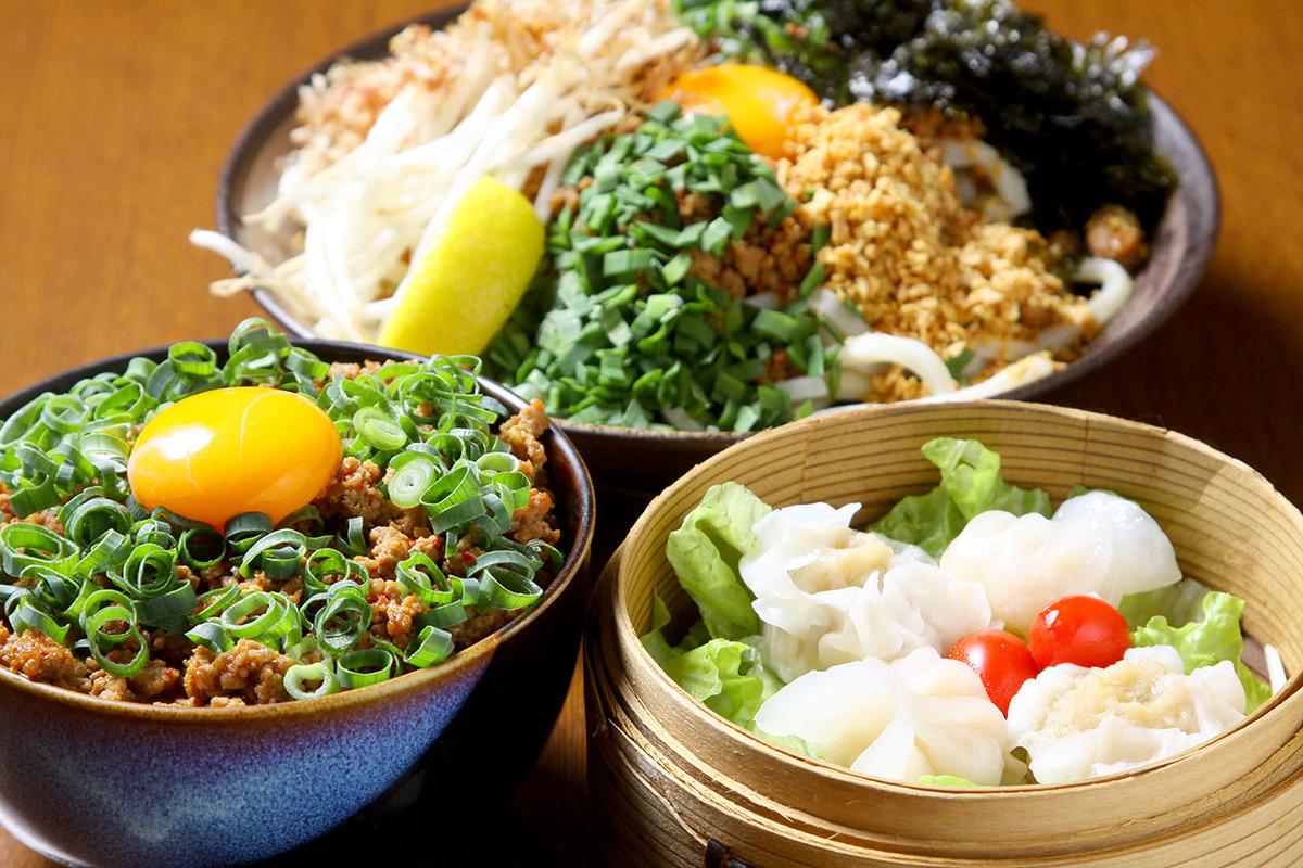 台湾丼(生卵or温玉付き)