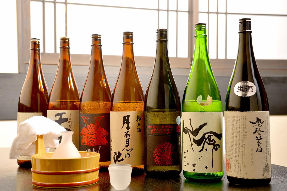 焼酎・日本酒各種