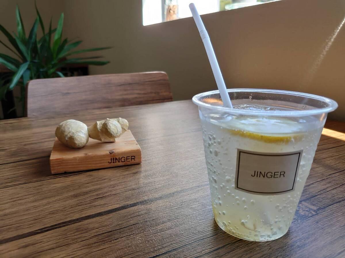 JINGERの生姜ソーダー(ICE)