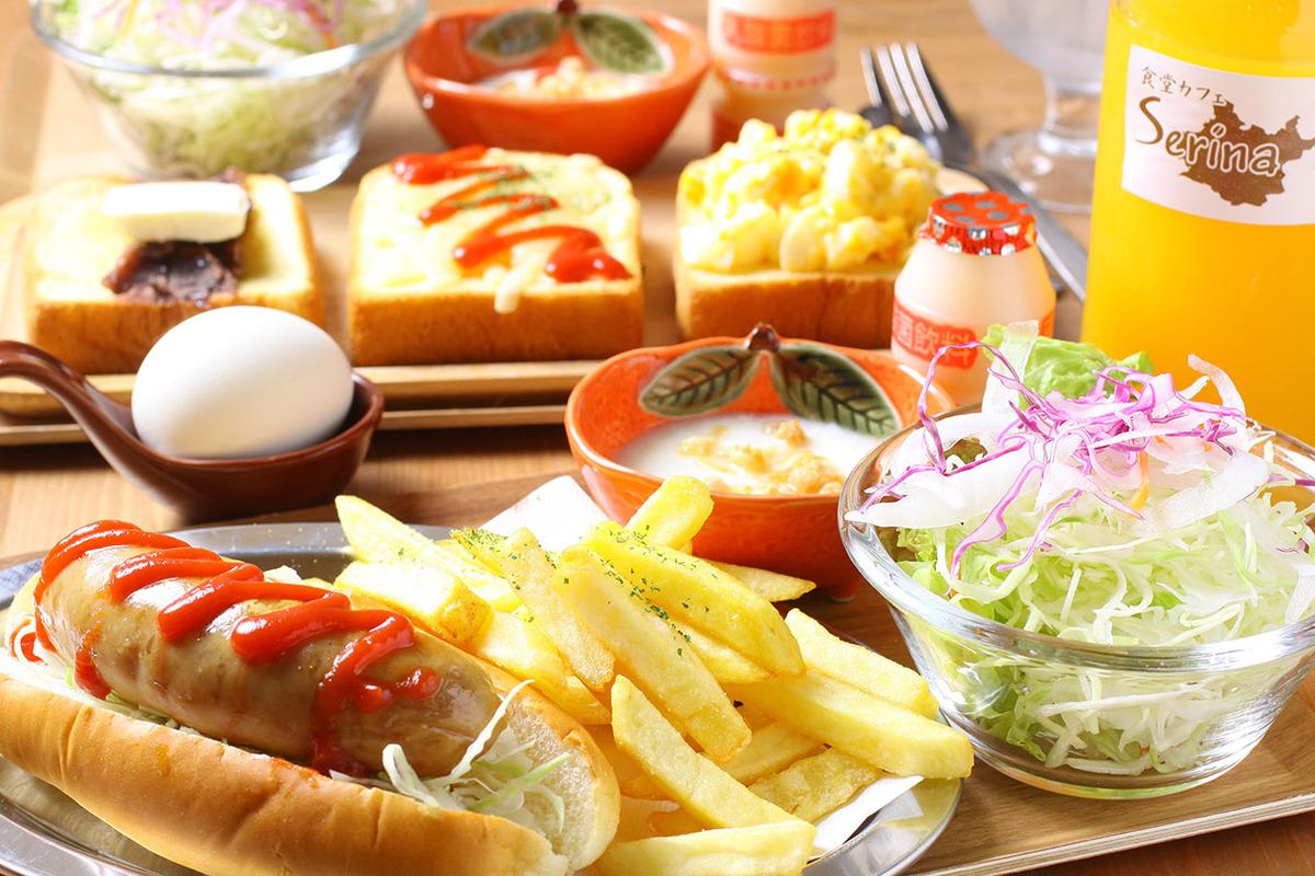 【土日限定】三種のトースト/ホットドッグ