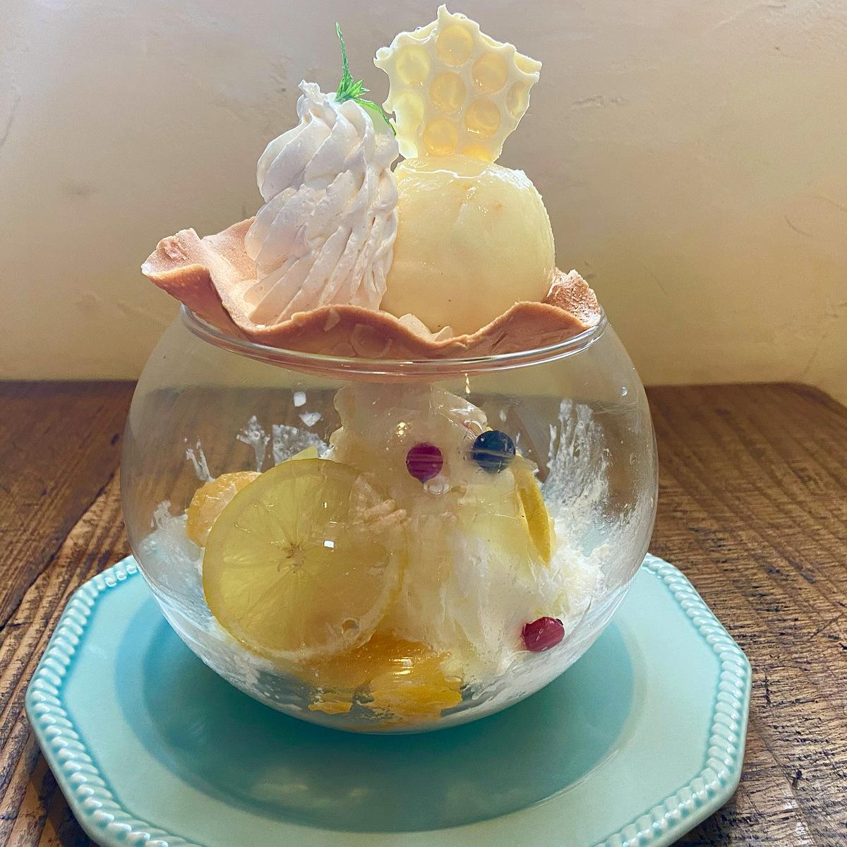 ハニーチーズアイスドーム