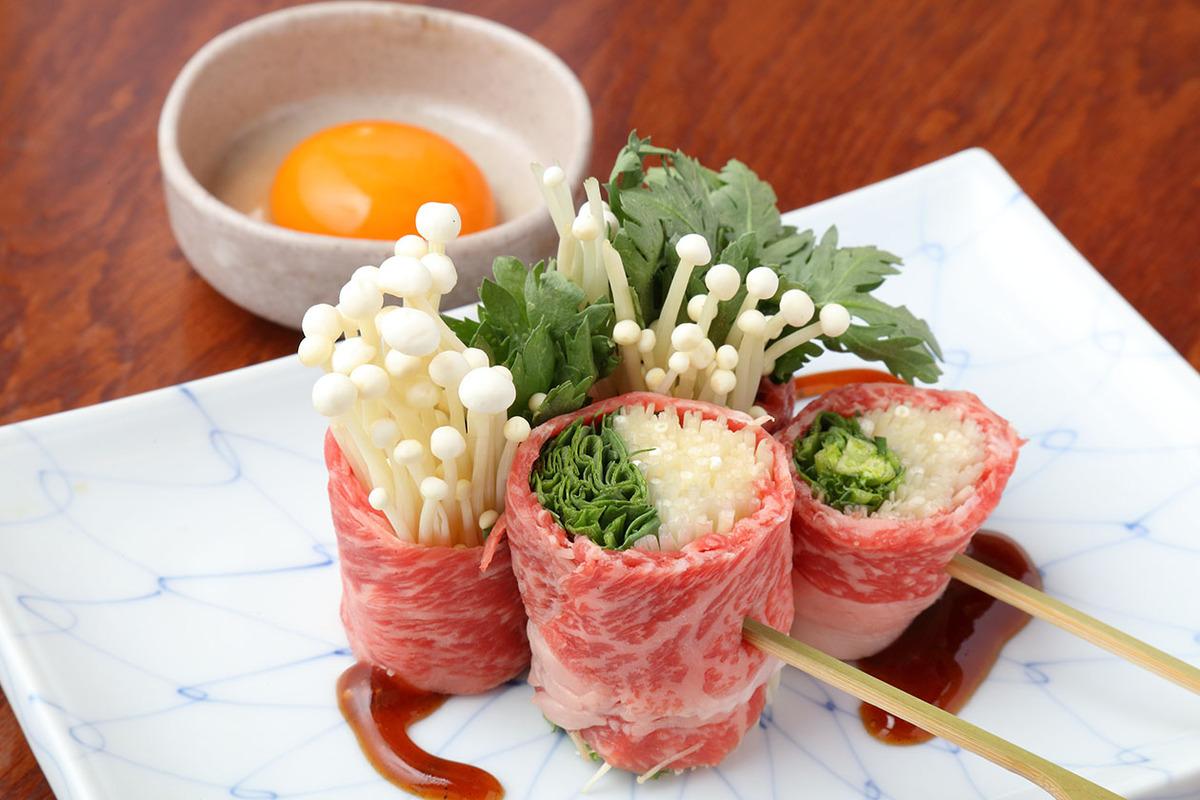 すき焼き串(2本)