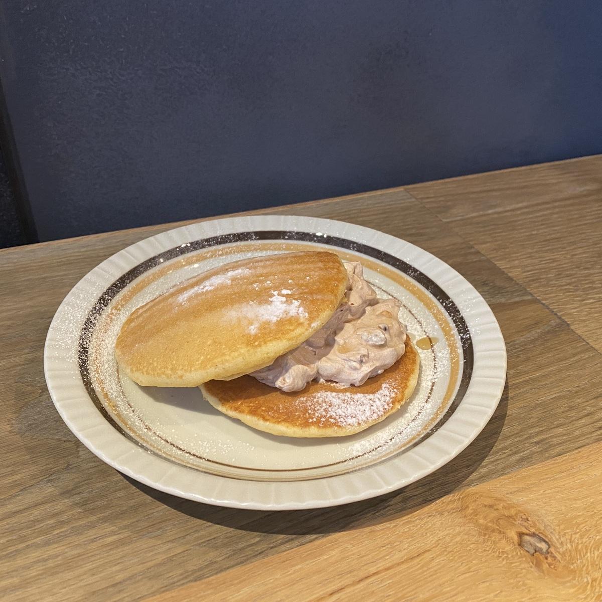 小倉ホイップパンケーキ